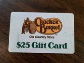 CRACKER BARREL Gift Cards GIFT CARD